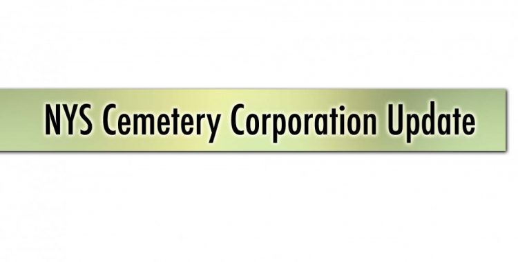 NYS Cemetery Corporation Title