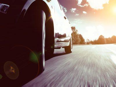 Sideshot of a car