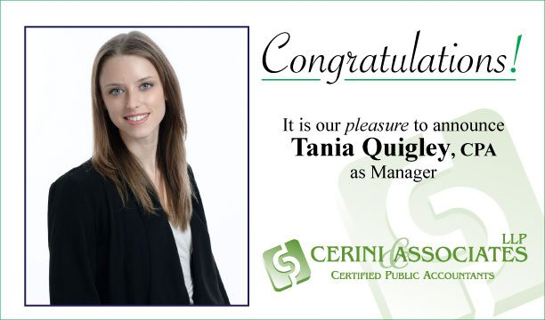 Tania Quigley Manager position recognition