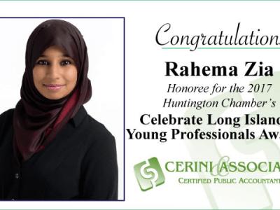Award for Rahema