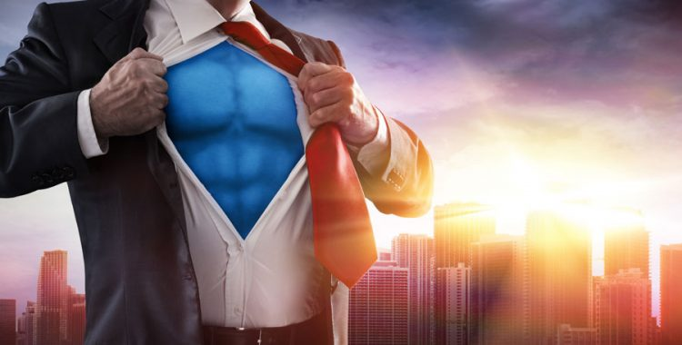 Superman look-a-like