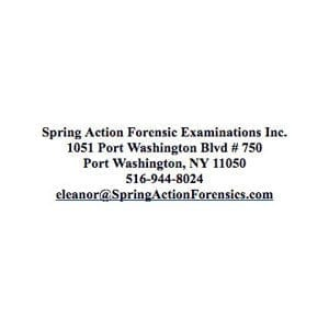 Spring Action Forensic Examinations Inc logo