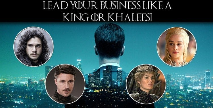 Game of Thrones Business Ad version 1