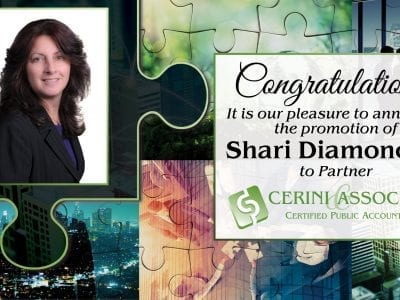 Shari Diamond promoted to Partner