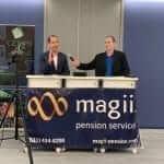 Ken Cerini and Mark Gajowski at Retirement Presentation