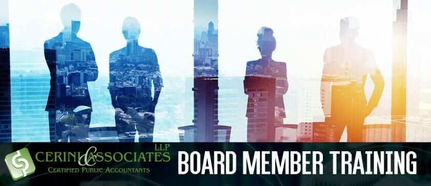 Board Member Training 2019 Branding Image