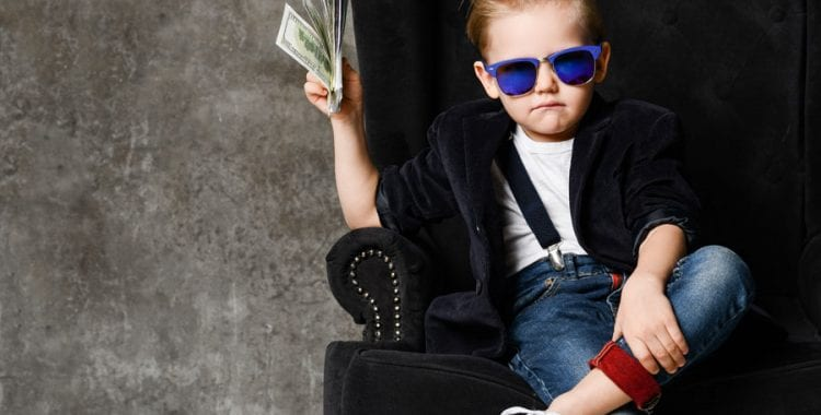 Are You Being Overcharged? kid with money