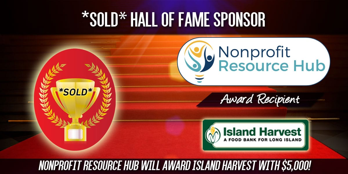 Hall of Fame Sponsorship sold: Nonprofit Resource Hub