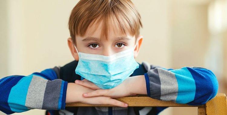 Coronavirus – SED Update 3/25/20-Kid with mask