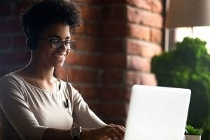 10 Free Online Learning Applications for Educators-Women working on computer