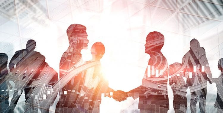 Nonprofit Partnerships… Should be on Your Radar- People shaking hands