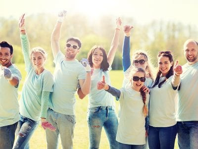 CARES Act Impacts on Nonprofit Organizations- People Cheering