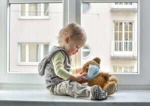 SED Update – Spring Unbreak- kid with bear in mask